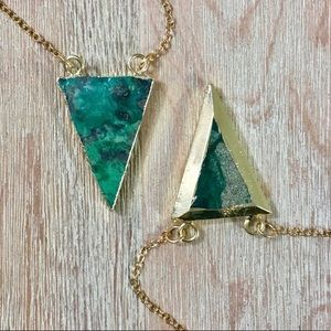 Last 2! 🌟HP🌟 Chrysoprase Mineral Necklace